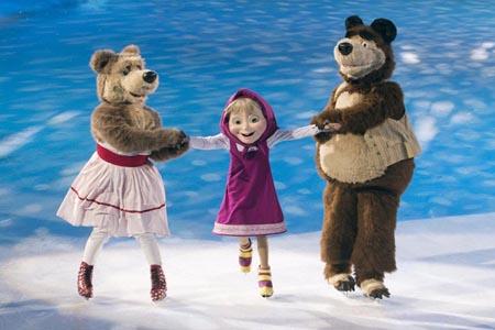 Masha & The Bear on Ice