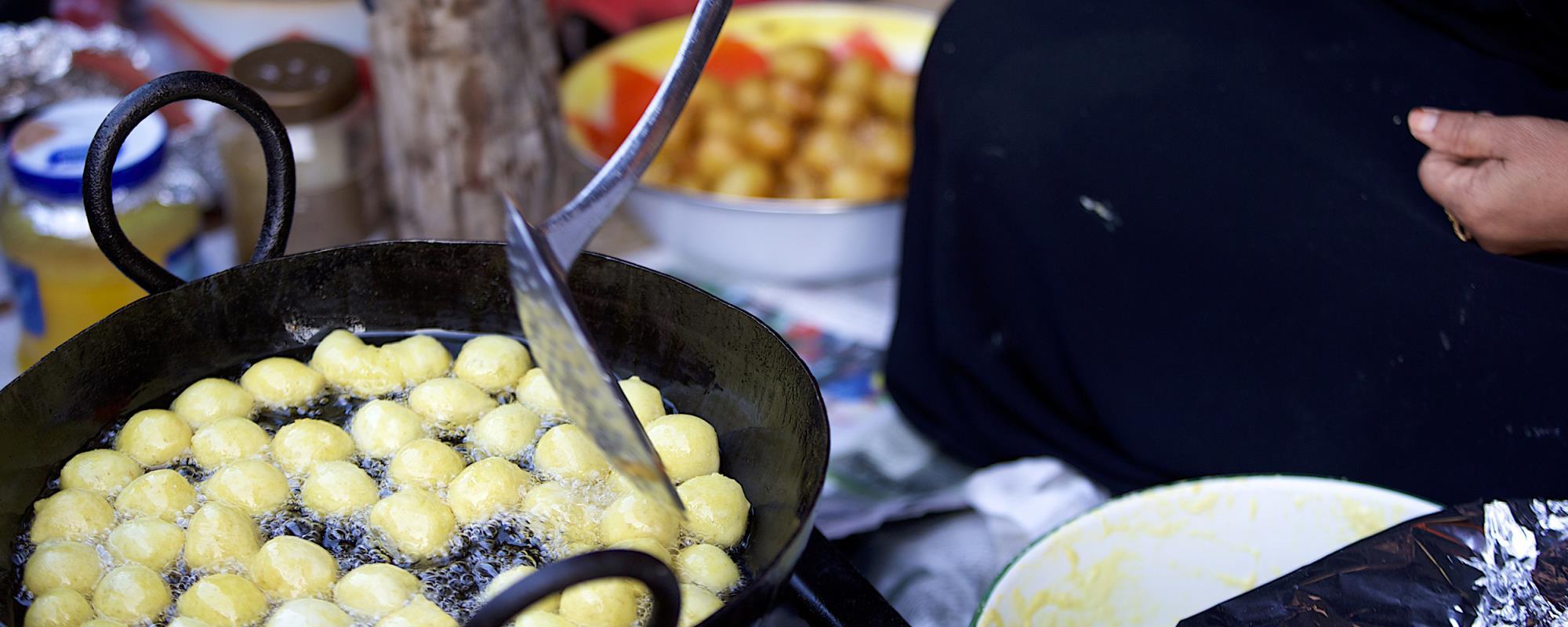Try Emirati food