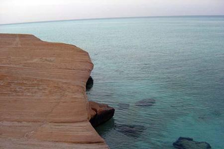 La plage de Mirfa