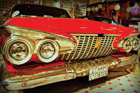 Musée de voitures anciennes