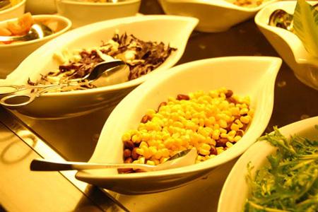 مطعم واحة لوا الخضراء