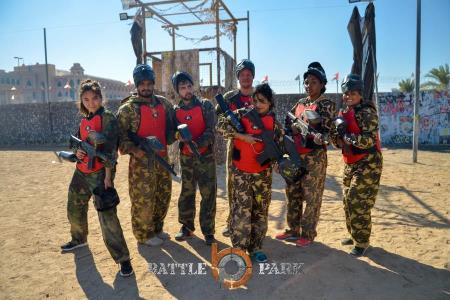 Paintball au Battle Park