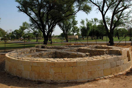 Hili archaeological garden