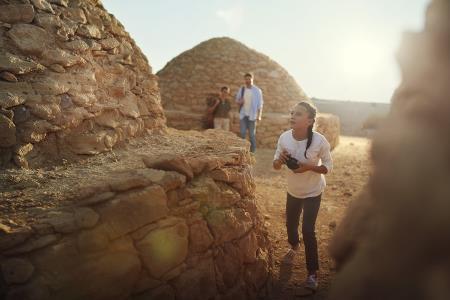 منتزه جبل حفيت الصحراوي