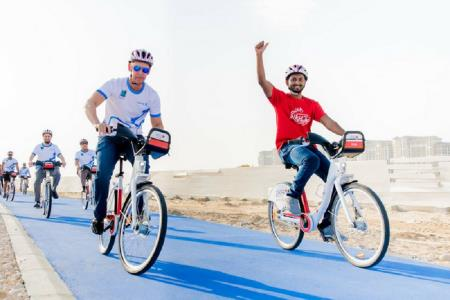 Masdar City Running and Cycling Track