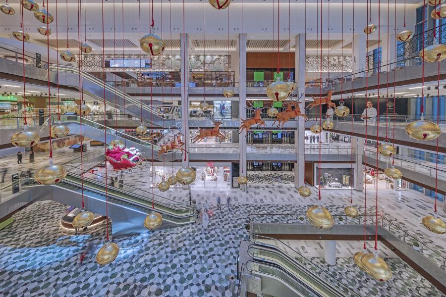 Winter Wonderland at The Galleria