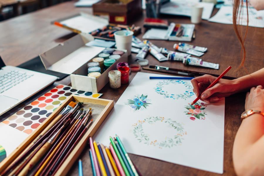 Junior Watercolour Workshop