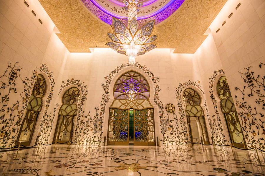 Modern Islamic Architecture At The Sheikh Zayed Grand Mosque Visitabudhabi Ae
