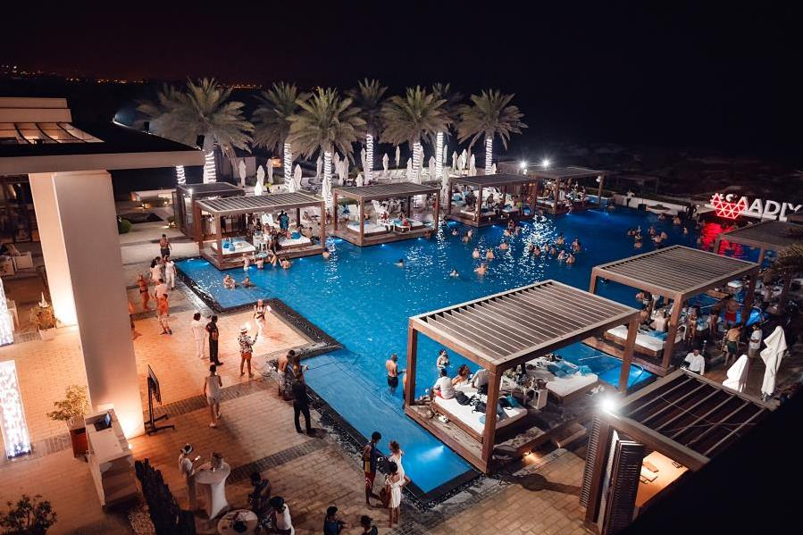 Festive Season at Saadiyat Beach Club