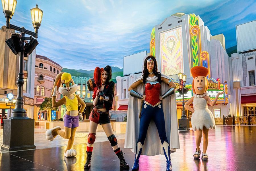Women of Warner Bros. World Abu Dhabi