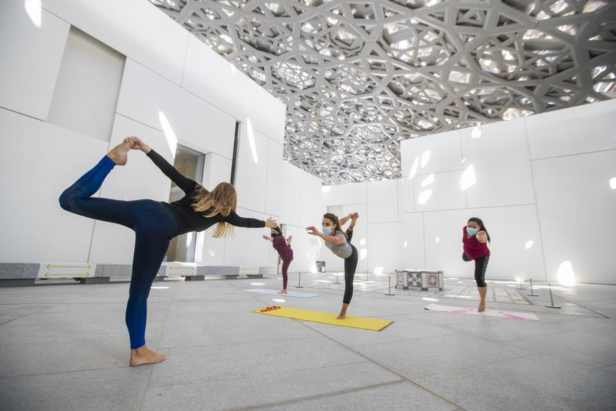 Yoga Under The Dome