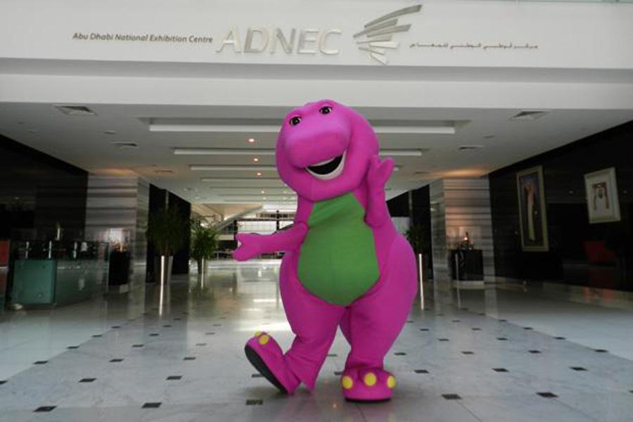 Barney Let S Go Live On Stage Visitabudhabi Ae