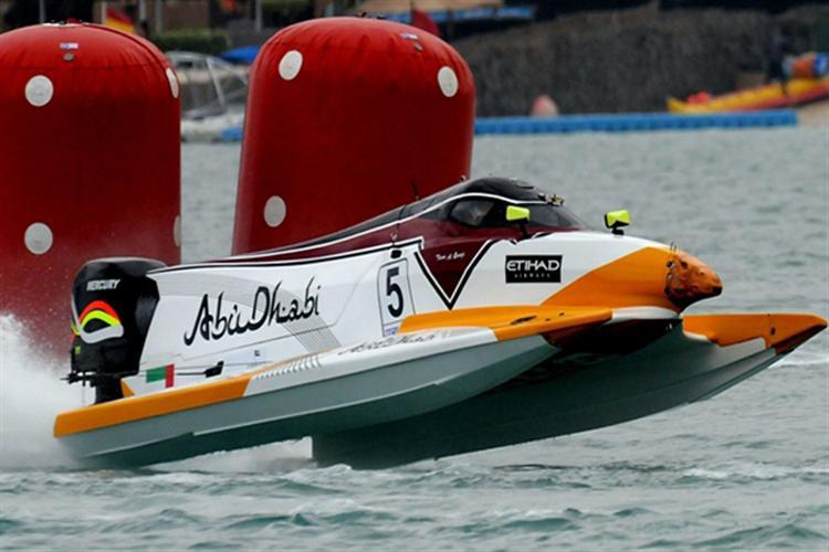 Uim F1 Powerboat World Championship G P Abu Dhabi